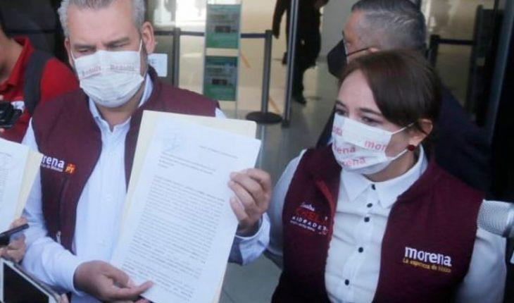 Presionan a trabajadores de gobierno para votar por Herrera, denuncian Bedolla y Andrade