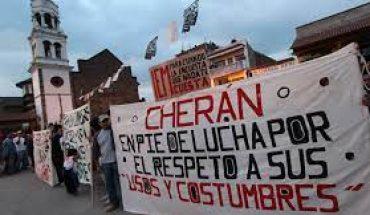 Renovación del Concejo Mayor de Cherán será el 23 de mayo