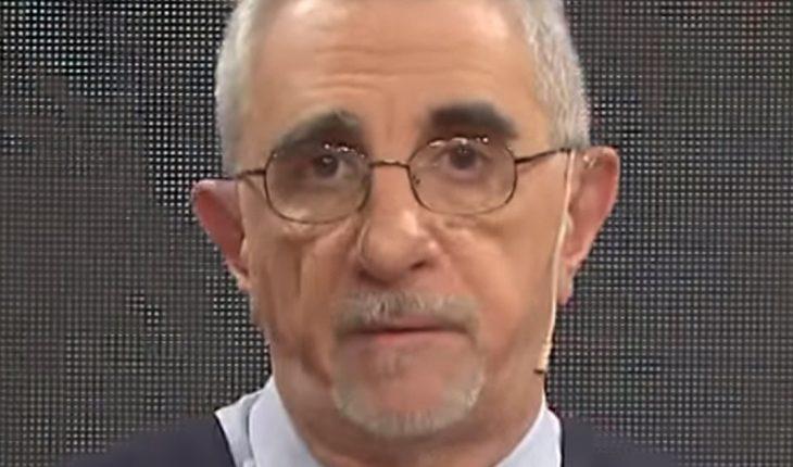 Ricardo Canaletti tiene coronavirus y permanece internado por una neumonía bilateral