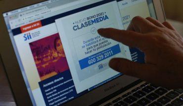 SII: 1,8 millón de personas solicitó el Bono de Clase Media