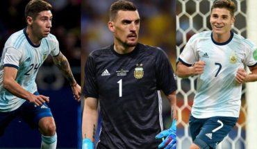 Todos de River: Scaloni definió a los tres convocados del fútbol local