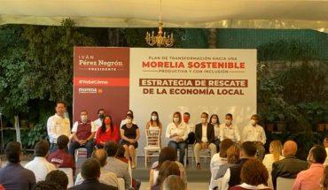 Trabajaré con empresarios y población para reactivación económica de Morelia: Iván Pérez Negrón