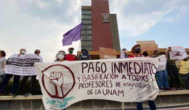 UNAM promete liquidar adeudos a maestros este fin de semana