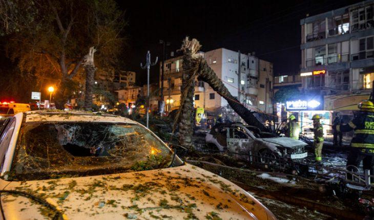 Un muerto y ocho heridos dejó lanzamiento de 130 cohetes de Hamás contra Tel Aviv