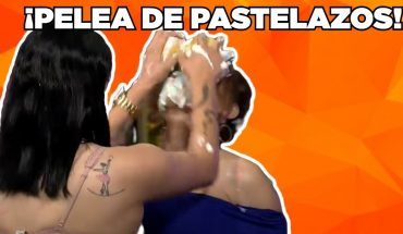 ¡Se pelean a pastelazos! | Adrián Marcelo Presenta