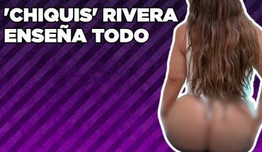 'Chiquis' Rivera promociona crema enseñando de más | Vivalavi