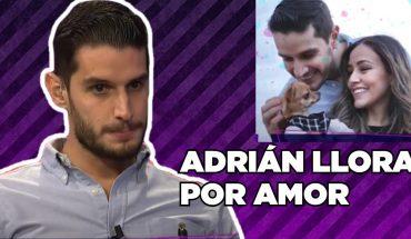 Adrián llora por su ruptura amorosa | Adrián Marcelo Presenta