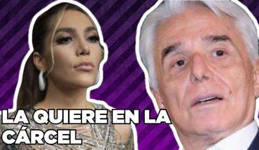 Enrique Guzmán quiere ver a Frida Sofía en la cárcel | El Chismorreo