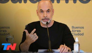 Horacio Rodríguez Larreta confirmó que acompañará el confinamiento del Gobierno hasta el 31 de mayo