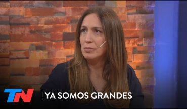 """""""La prohibición y el miedo no pueden ser el único camino"""": María Eugenia Vidal en YA SOMOS GRANDES"""