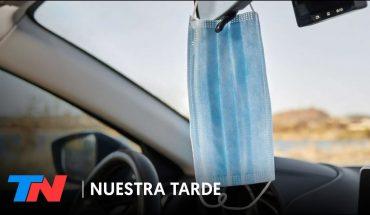 PRESO POR NO USAR EL BARBIJO: Un médico fue detenido mientras manejaba solo en su auto sin tapabocas