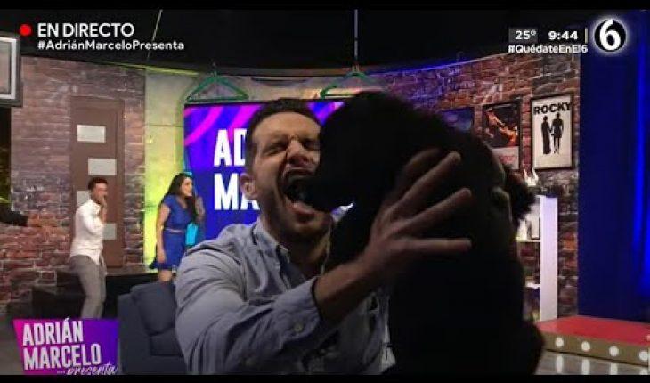 """""""Pan y Vino"""" le hace pipí a Adrián en la cara   Adrián Marcelo Presenta"""