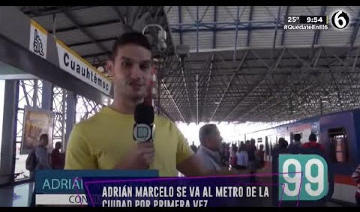 Se sube al metro por primera vez | Adrián Marcelo Presenta