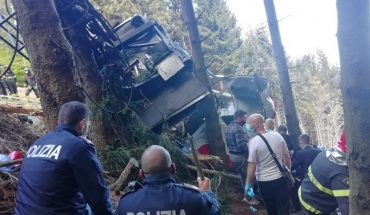 A cable car fell in Italy: there are 13 dead and two seriously injured