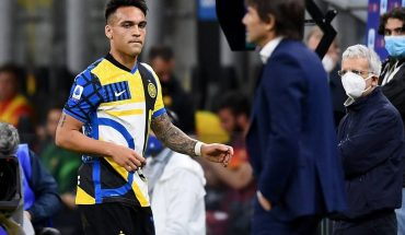 Above the ring, Lautaro Martínez and Antonio Conte ended the controversy