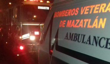 Accident at party in Mazatlan, Sinaloa Civil Protection