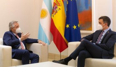 Alberto Fernandez added Spain's support in negotiations with IMF