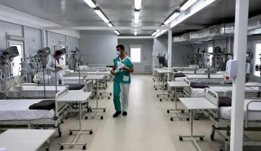 Alert for high occupancy of intensive care beds