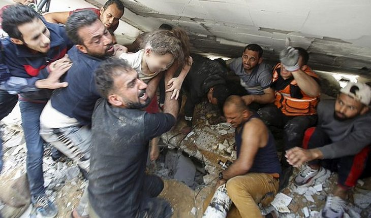 At least 181 Palestinians have died as a product of the Israeli offensive on Gaza