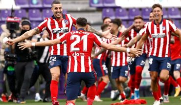 Atletico Madrid beat Valladolid and became Champion of La Liga