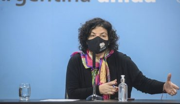 """Carla Vizzotti: """"The situation is critical, the most worrying since the pandemic began"""""""