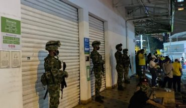 Colombia seeks to ensure peaceful protest with military support