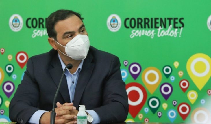 Corrientes continues with its classes virtually and extends its sanitary measures