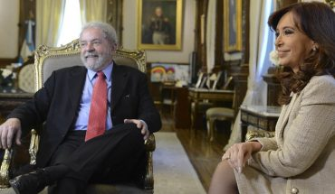 Cristina Kirchner and Lula share a virtual event this afternoon