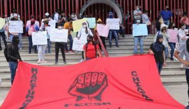 Demand release of 94 normalists detained in Chiapas
