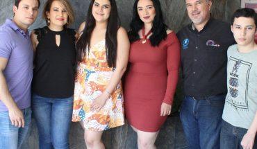 Gabriela Zavala Zárate celebrates her birthday in Los Mochis