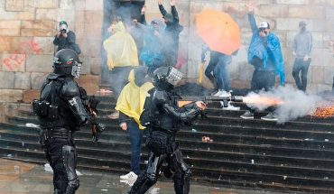 Intense protests take Colombia in rejection of tax reform and arrive at the President's house