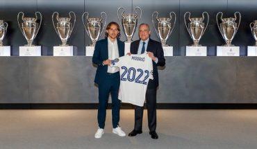 Luka Modric renewed with Real Madrid until 2022