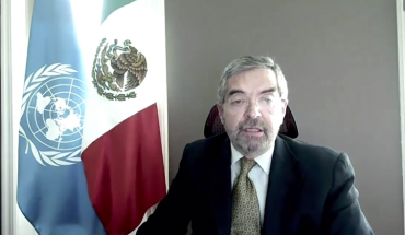 Mexico calls on UN to rule on Israel-Palestine conflict