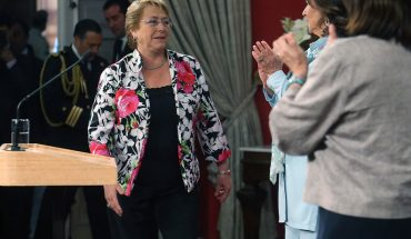 Michelle Bachelet recalled sexist situations throughout her political career