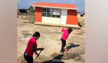 More than 80 schools in Morelia without water, could not return to face-to-face classes