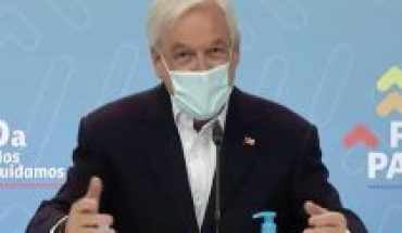 """Sn talk about universal aid or the agenda of """"common minimums"""", President Piñera gives his version of the opening of dialogue with Congress"""