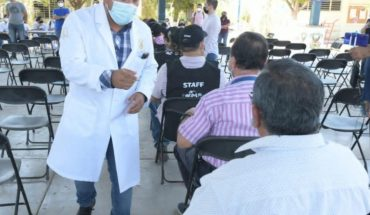 Starts Covid-19 vaccination to educational staff in Sinaloa
