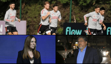 """Ten players tested positive for COVID in River: concentration was suspended; Vidal confessed that she wishes to be president: """"I hope the Argentinians imagine me""""; 'Chinese' Navarro and the """"tangle of social plans"""" where Argentina is trapped"""