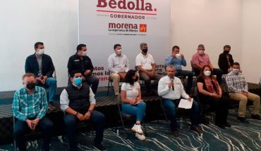 The Team for Michoacán is joined by the privileges and the desire to steal: Bedolla