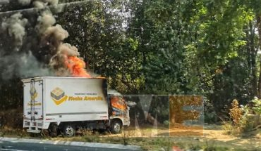 There are two detainees for burning vehicles in Uruapan