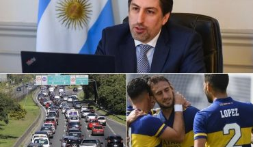 Trotta meets with the provinces that resist closing the classrooms, criticism of the City for the controls in the accesses to Province, Boca won and qualified to quarters and much more...