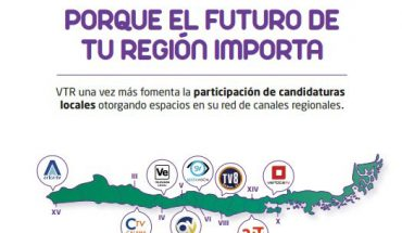 VTR encourages local candidacies by granting spaces in its network of regional channels