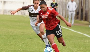 Women's Football: River and UAI Urquiza sealed the rankings after date 6