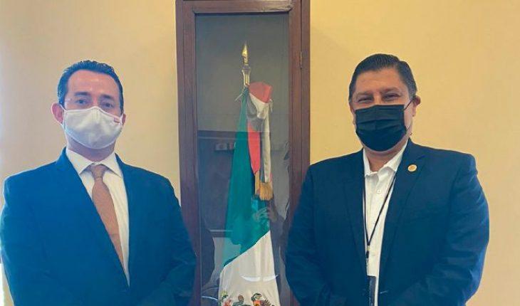 Acude a la CDMX Ignacio Campos para adelantar temas financieros