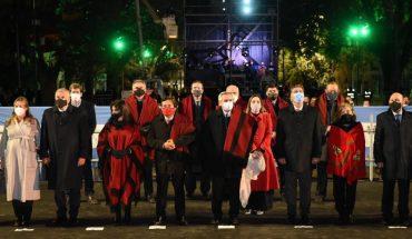 Alberto Fernández en Salta: el presidente encabeza el acto homenaje a Güemes