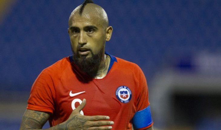 """Arturo Vidal: """"Tenemos que mejorar mucho si queremos pelear la Copa América"""""""