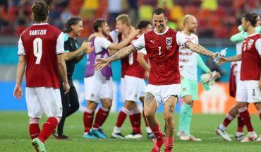 Austria derrotó a Ucrania y enfrentará por octavos de final a una invicta Italia en la Eurocopa