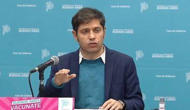 """Axel Kiciloff: """"Venimos muy bien con la vacunación y el objetivo es llegar a todos"""""""