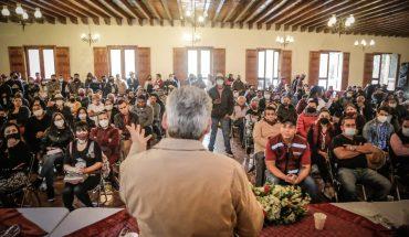 Bedolla convoca a participación ciudadana para reconstruir Michoacán