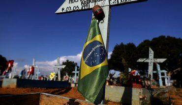 Brasil suma 1.129 muertes y 37.948 nuevos casos en las últimas 24 horas